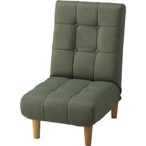 その他 リクライニングチェア(座椅子) ジョイン 14段階リクライニング ポケットコイル THC-107GR グリーン(緑) ds-749252