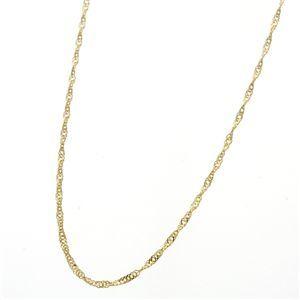その他 《国産・24金》 K24 純金スクリューネックレス 42cm ds-759161