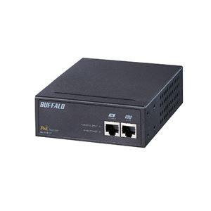 その他 バッファロー IEEE802.3af対応 PoEインジェクタ 1CHタイプ BIJ-POE-1PR ds-833757