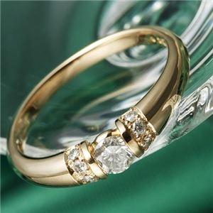 その他 K18PG/0.28ctダイヤリング 指輪 19号 ds-867528