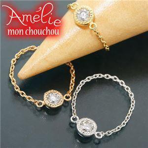 その他 Amelie Monchouchou【タルトシリーズ】リング ホワイトゴールド(WG) 6号 指輪 ds-867675