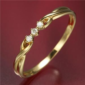 その他 K18ダイヤリング 指輪 デザインリング 11号 ds-867743
