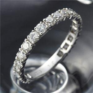 その他 プラチナPt900 ダイヤリング 指輪 1ctエタニティリング 17号 (鑑別書付き) ds-867814