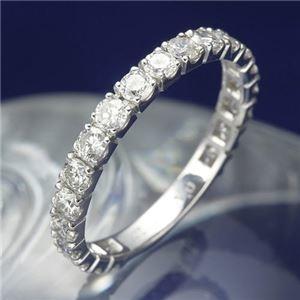 その他 プラチナPt900 1.0ctダイヤリング 指輪 エタニティリング 17号 ds-867869