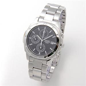 その他 SEIKO(セイコー) 腕時計 クロノグラフ SND191P ブラック/バー ds-452398