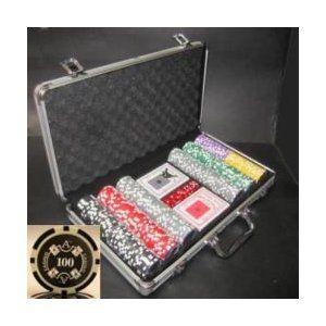 その他 Quattro Assi(クアトロ・アッシー)ポーカーチップセット300 ds-725493