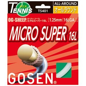 その他 GOSEN(ゴーセン) オージー・シープ ミクロスーパー16L(20張入) TS401W20P ds-856836