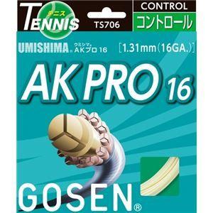 その他 GOSEN(ゴーセン) ウミシマ AKプロ16 ナチュラル(20張入) TS706NA20P ds-856869