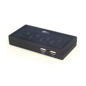 その他 ラトックシステム USB接続 (4台用) ミニBOXタイプ REX-430U ds-445418