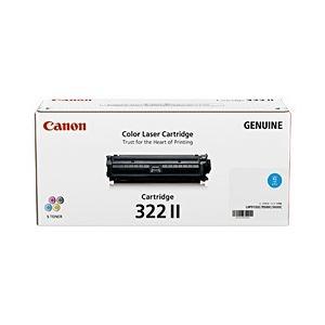 その他 【純正品】 キヤノン(Canon) トナーカートリッジ シアン 型番:カートリッジ322II(C) 単位:1個 ds-1098639