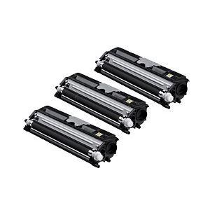 その他 【純正品】 コニカミノルタ トナーカートリッジ 大容量ブラック 型番:TVP1600K 印字枚数:2500枚×3個 単位:1パック(3個入) ds-1099267