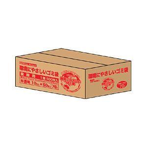 その他 【業務用パック】オリジナルゴミ袋 半透明 70L 1箱(1000枚) ds-1101671