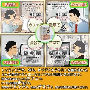 その他 DVDレッスンビデオ 誰でもわかる TOEIC(R)TEST 英文法編 Vol.1~6 全6巻セット ds-148047