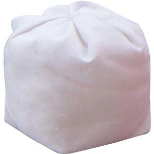 その他 玉入れ用球 【50球】 綿100% 袋付き ホワイト(白) ds-985314