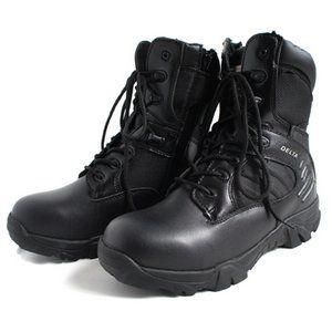 """その他 アメリカ軍 サイドジッパブーツ 靴7W 25cm特殊部隊""""DE LTA"""