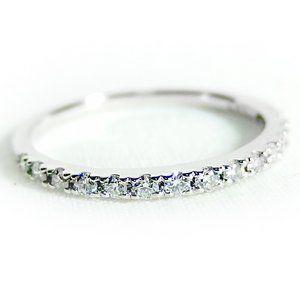 その他 ダイヤモンド リング ハーフエタニティ 0.2ct 9号 プラチナ Pt900 ハーフエタニティリング 指輪 ds-1238428