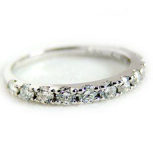 その他 ダイヤモンド リング ハーフエタニティ 0.5ct 12号 プラチナ Pt900 ハーフエタニティリング 指輪 ds-1238506