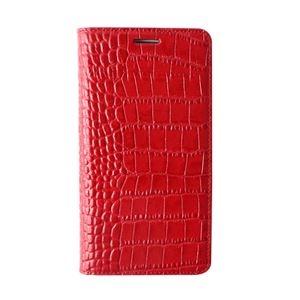 その他 【Galaxy S6 ケース】GAZE Vivid Croco Diary(ゲイズ ビビッドクロコダイアリー) GZ6093GS6 レッド【代引不可】 ds-1409712