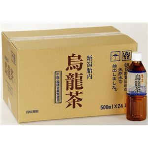 その他 【まとめ買い】新潟 胎内高原の烏龍茶 500ml×240本 ペットボトル ds-1414749