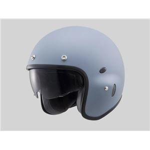 その他 【DAYTONA/デイトナ】HT PH-1 ジェットヘルメット マットグレー Mフリー ds-1421653