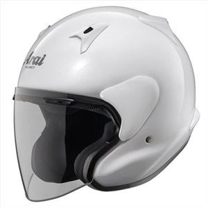 その他 アライ(ARAI) ジェットヘルメット MZ-F グラスホワイト XO 63-64cm ds-1425264
