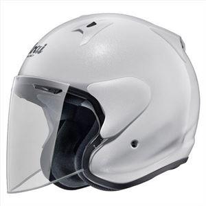 その他 アライ(ARAI) ジェットヘルメット SZ-G グラスホワイト S 55-56cm ds-1425421