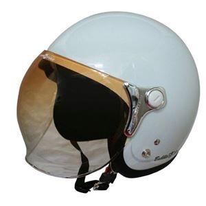 その他 ダムトラックス(DAMMTRAX) ジェットヘルメット BUBBLE-BEE P.ホワイト ds-1425916