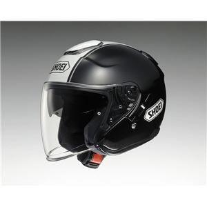 その他 ジェットヘルメット シールド付き J-CRUISE CORSO TC-5 ブラック/ホワイト L 【バイク用品】 ds-1442890