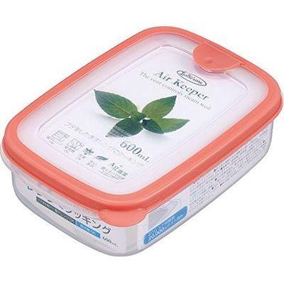 岩崎工業 保存容器 エアキーパー フードケース S オレンジ A-030 SO【60個セット】 4901126003042【納期目安:1週間】