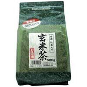 その他 (業務用20セット)国太楼 国太楼 たっぷり抹茶入 玄米茶 500g ds-1463022