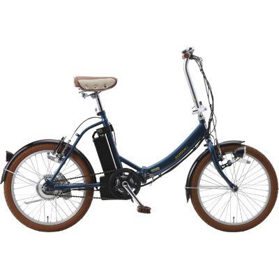 カイホウ SUISUI 20型折畳み式電動アシスト自転車(ネイビー)【離島、沖縄配達不可】 BM-E50NV