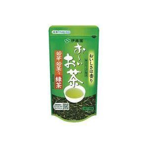 その他 (まとめ)伊藤園 おーいお茶 若芽・若茎入り緑茶 100g 【×20セット】 ds-1475299