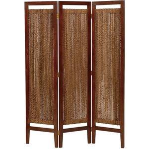 その他 パーテーション(スクリーン) グランツシリーズ 3連 木製 高さ150cm アジアン風 ナチュラル ds-1314312