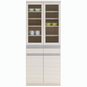 その他 フナモコ 食器棚 【幅73.2×高さ180cm】 ホワイトウッド EKS-73G ds-1342213