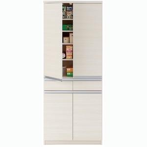 その他 フナモコ キッチンストッカー 【幅73.2×高さ180cm】 ホワイトウッド EKS-73T ds-1342214