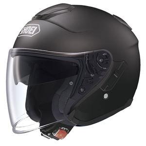 その他 ジェットヘルメット シールド付き J-CRUISE マットブラック M 【バイク用品】 ds-1442778