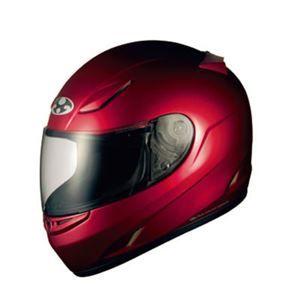 その他 フルフェイス ヘルメット FF-R3 シャイニーレッド L 【バイク用品】 ds-1444119
