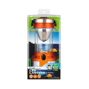 その他 (業務用セット) ELPA LEDランタン 電球色 100ルーメン 単1形4本 DOP-L010L 【×3セット】 ds-1485651