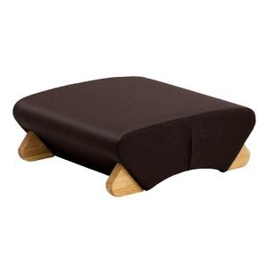 その他 デザイン座椅子 脚:クリア/ビニールレザー:ブラック 【Mona.Dee モナディー】WAS-F ds-1486269