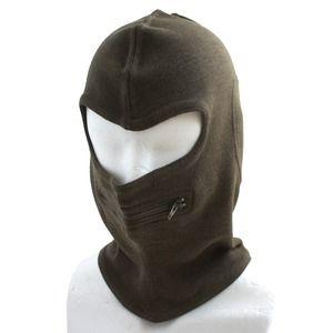 その他 イタリア軍放出 バラクラバ目出し帽 ウール HC049NN ブラウン 【 デットストック 】 【 未使用 】  ds-1501217