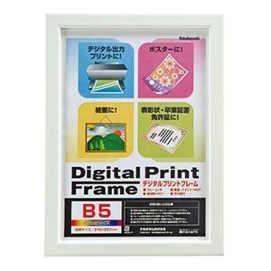 その他 (業務用セット) デジタルプリントフレーム B5/A5 フ-DPW-B5-W ホワイト【×10セット】 ds-1522839