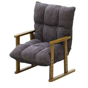 その他 大商産業 椅子 高座椅子 ブラック NA-062BK ds-1547549