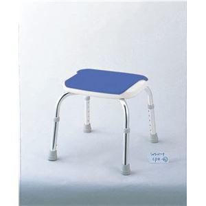 その他 アロン化成 シャワーチェア 安寿シャワーベンチCPE-N (背なし) ブルー 536-310 ds-1547870