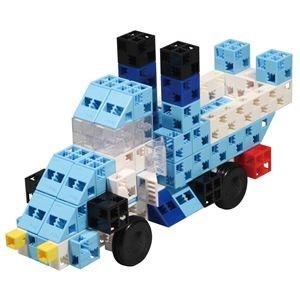 その他 (まとめ)アーテック Artecブロック/カラーブロック 【BLUE RACER】 100pcs ABS製 【×5セット】 ds-1563589