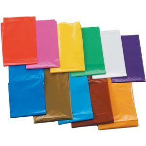 その他 (まとめ)アーテック 橙 カラービニール袋(10枚組) 【×15セット】 ds-1565680