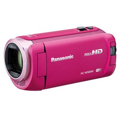 パナソニック 約251万画素 デジタルハイビジョンビデオカメラ 光学ズーム50倍 HC-W585M-P