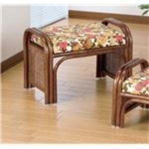 その他 天然籐らくらく座椅子2脚組 【ハイタイプ】 座面高33cm (リビング/玄関)【代引不可】 ds-1569450