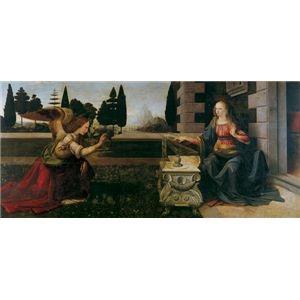 その他 世界の名画シリーズ、プリハード複製画 レオナルド・ダ・ヴィンチ作 「受胎告知」【代引不可】 ds-195164