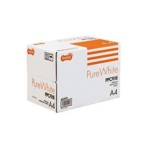その他 (まとめ) TANOSEE PPC用紙 Pure White A4 1箱(2500枚:500枚×5冊) 【×10セット】 ds-1572078