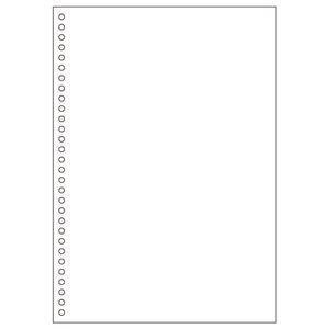 その他 (まとめ) ヒサゴ マルチプリンター帳票(エコノミープライス) A4 白紙 30穴 BPE2049 1箱(2500枚) 【×4セット】 ds-1573009